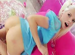 blonde acro anal sexe