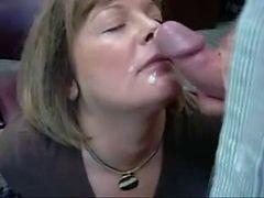 mature blowjob swallow